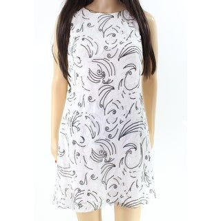 Lauren Ralph Lauren NEW White Black Womens Size 0P Petite Sheath Dress