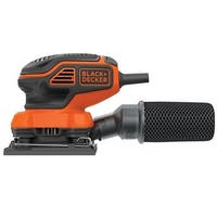 Black & Decker BDEQS300 1/4 Sheet Orbital Sander, 2 Amps