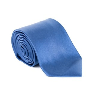 Tom Ford Mens Natural Blue 100% Silk Tie - no size