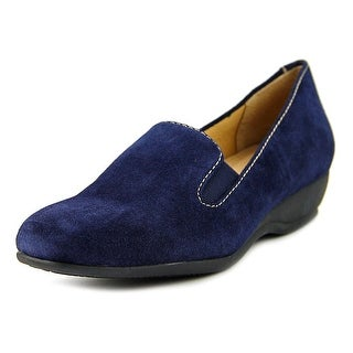 Trotters Lamar   Round Toe Suede  Loafer
