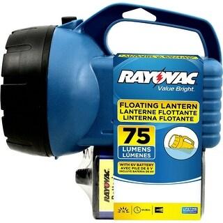 Rayovac EFL6V-BA Economy Floating Lantern, 75 Lumens, 6 V Battery