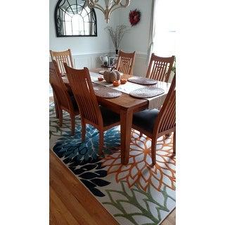Nourison Aloha Floral Multicolor Indoor/Outdoor Rug   7u0026#x27;10u0026quot; X