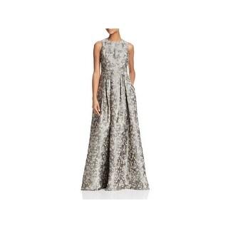 Aidan Mattox Womens Evening Dress Full-Length Sleeveless