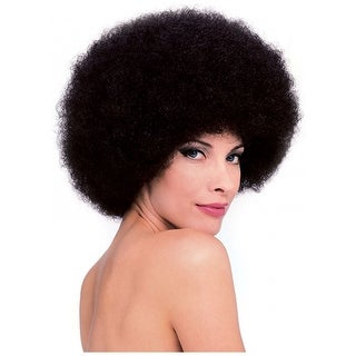 Big Brown Afro Wig Adult Costume Accessory