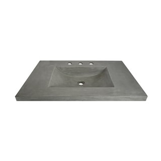 """Native Trails NSVNT30 Palomar 30-1/2"""" NativeStone Vanity Top with Integrated Basin"""