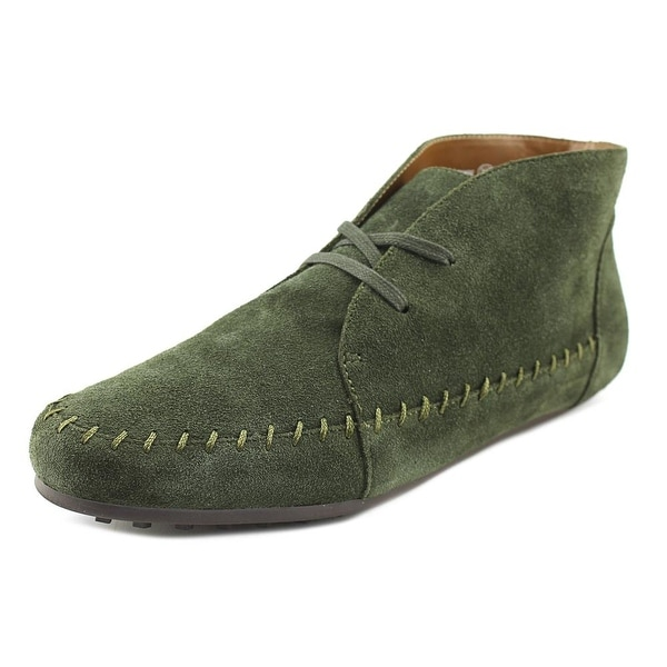 Aerosoles Driving Range Women Round Toe Suede Green Bootie