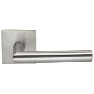 """Omnia 12SD Single Dummy Door Lever from the Stainless Steel Featuring 2-7/16"""" Ro"""