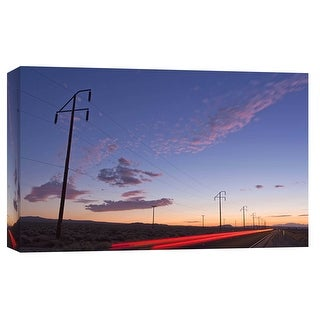"""PTM Images 9-101976  PTM Canvas Collection 8"""" x 10"""" - """"The Road To Trona"""" Giclee Deserts Art Print on Canvas"""