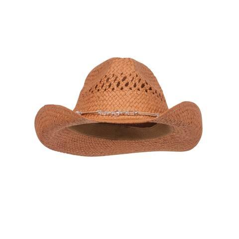 Outback Toyo Cowboy Hat - Brown
