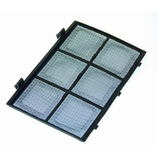 OEM Haier Wine Cooler Air Filter Originally Shipped With: HVTEC16DABS, HVTEC06ABS, HVTEC08ABS, HVTM12DABB, HVTM08ABS