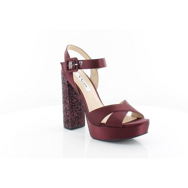 8b3e175787 Shop Nina Savita Women's Sandals Dark Wine - Free Shipping Today ...