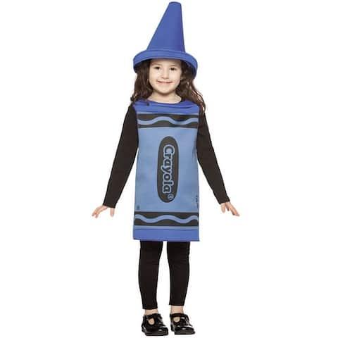 Rasta Imposta Crayola Blue Toddler Costume (3T-4T) - Solid