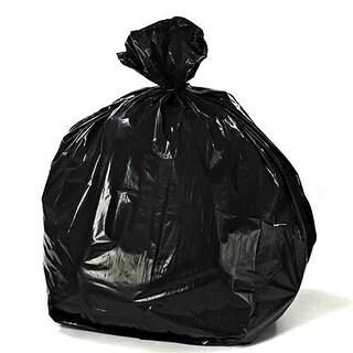 Toughbag Trash Bags 33x39 33 Gal 100/case Garbage Bags 1.2 Mil (Black)