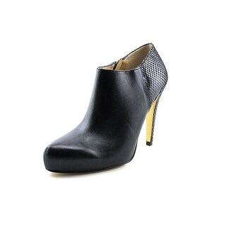 INC International Concepts Bellona Pointed Toe Leather Bootie
