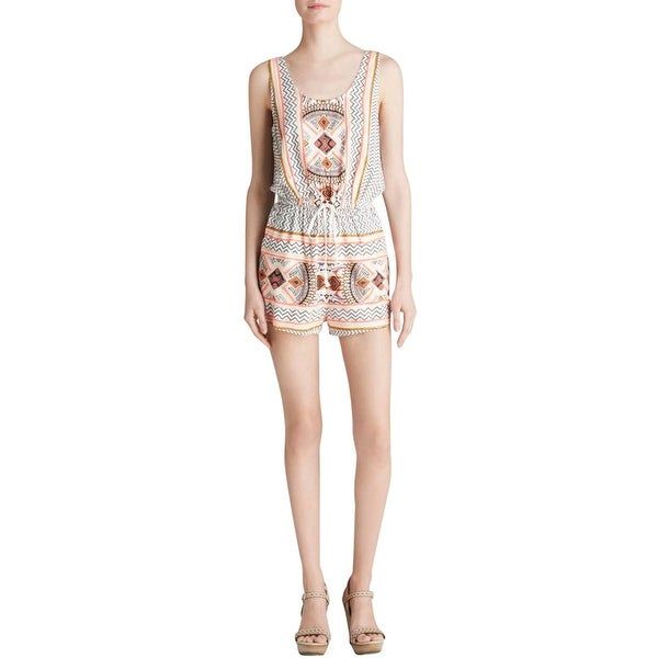 Minkpink Womens Romper Printed Sleeveless