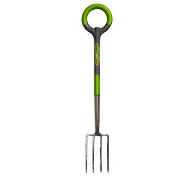 Radius Garden 204 PRO Stainless Steel Border Fork - N/A