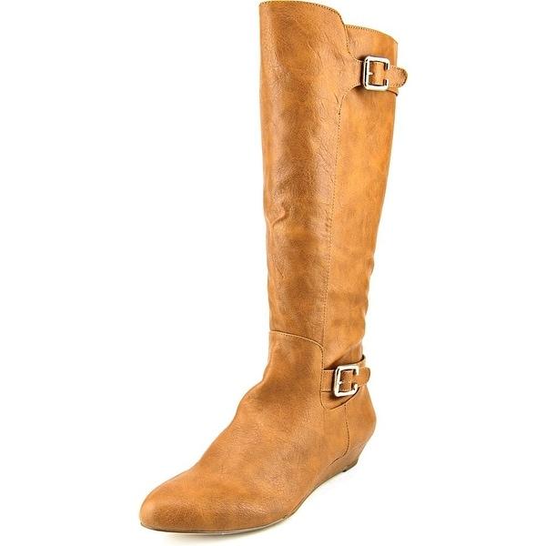 Style & Co Phallon Women Cognac Boots