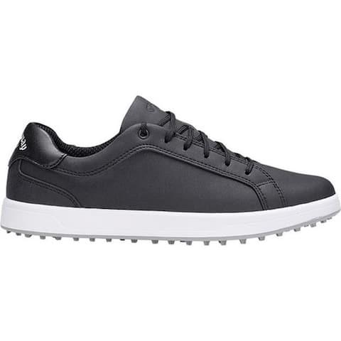 Callaway Women's Del Mar Waterproof Golf Shoe Black Microfiber Leather