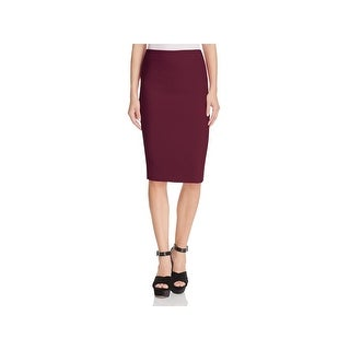 Likely Womens Tallow Pencil Skirt Vented Mid Calf