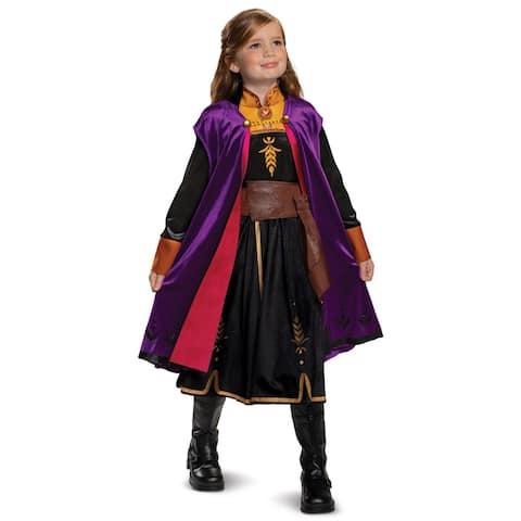 Disguise Frozen 2 Anna Deluxe Child Costume - Multi