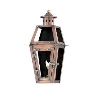 "Primo Lanterns OL-15FG Orleans 10"" Wide Outdoor Wall-Mounted Lantern Natural Gas Configuration"