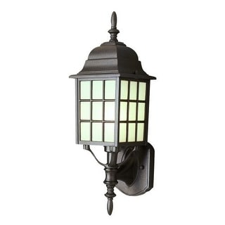 Trans Globe Lighting 4420 Single Light Up Lighting Square Outdoor Wall Sconce from the Outdoor Collection