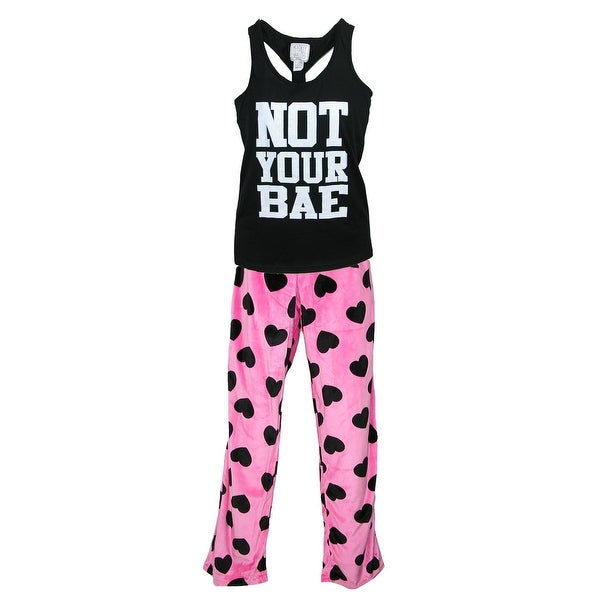 Mentally Exhausted Women's Tank and Pant Pajama Set