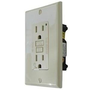 White Gfi 20 Amp