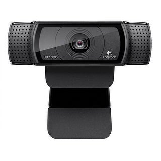 Logitech 960-000764 Hd Pro Webcam C920, Widescreen Video Calling & Recording, 1080P Camera, Desktop/Laptop Webcam
