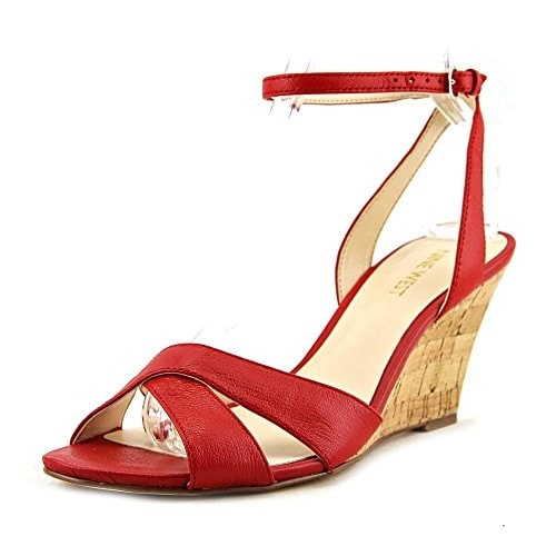 Nine West Womens kami Open Toe Casual Platform Sandals