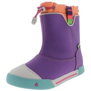 Keen Girls Encanto 365 Little kid Leather Rain Boots - 13 medium (b,m)