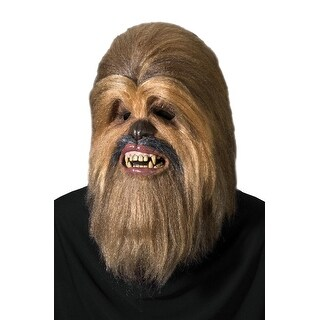 Rubies Supreme Edition Chewbacca Adult Mask - Brown