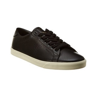Link to CELINE Women's Leather Triomphe Low Top Sneakers Shoes Black Similar Items in Designer Shoes