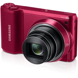 Samsung WB800F Smart Digital Camera (Red) (Open Box)