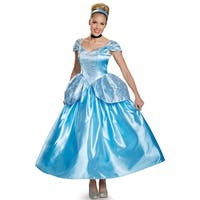 Disguise Cinderella Prestige Adult Costume - Blue