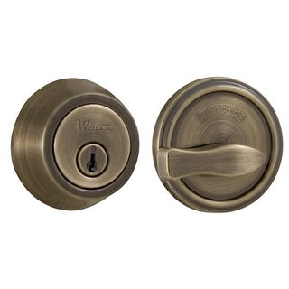 Weslock 671 Grade 2 Single Cylinder Deadbolt from the Traditionale Collection