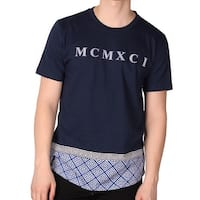 Enyce Men's 'Bizzy Bone' Long T-Shirt
