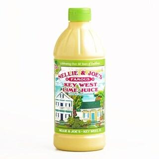 N&J Key Lime Juice 16 oz each (1 Item Per Order, not per case)