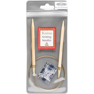 "Tulip Knina Knitting Needles 24""-Size 10.5/6.5mm"
