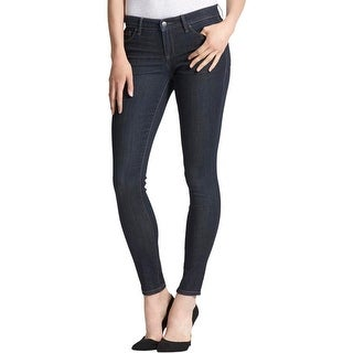 Kiind Of Womens Sexy Skinny Skinny Jeans Acid Wash Mid-Rise