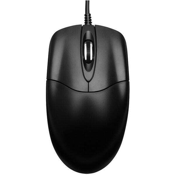 Adesso HC-3003US Adesso HC-3003US Desktop Optical Mouse - Optical - Cable - USB - 400 dpi - Scroll Wheel - 3 Button(s)