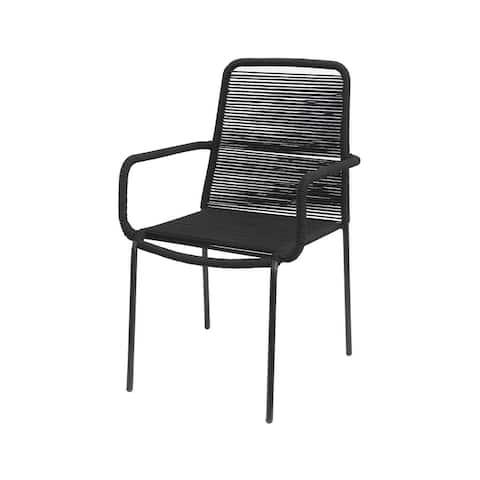 Palaio Chair - Black (Set of 2)