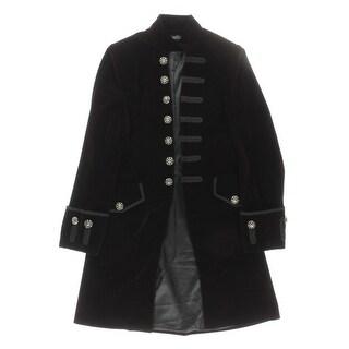Darc Chic Mens Jacket Velvet Embroidered - S
