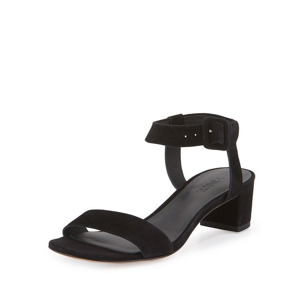 Vince Rena Suede City Heeled Sandals - 6 b(m)