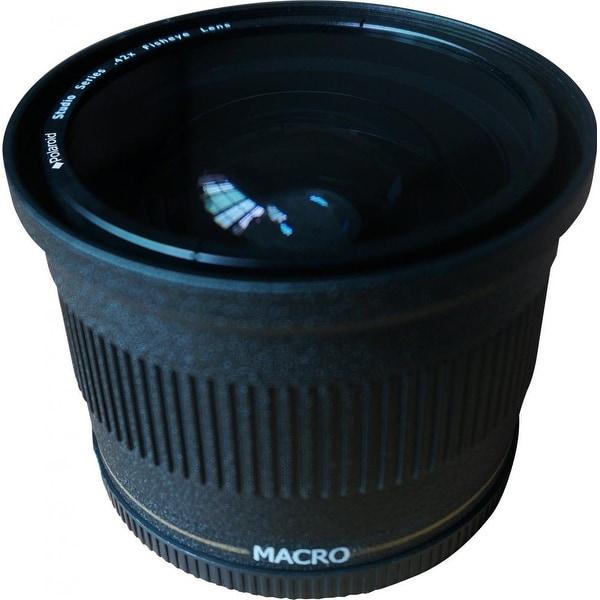 Polaroid Studio Series 72mm .42x High Definition Fisheye Lens w Macro Attachment