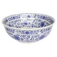 Eden Bath Ming Dynasty Decorative Porcelain Sink