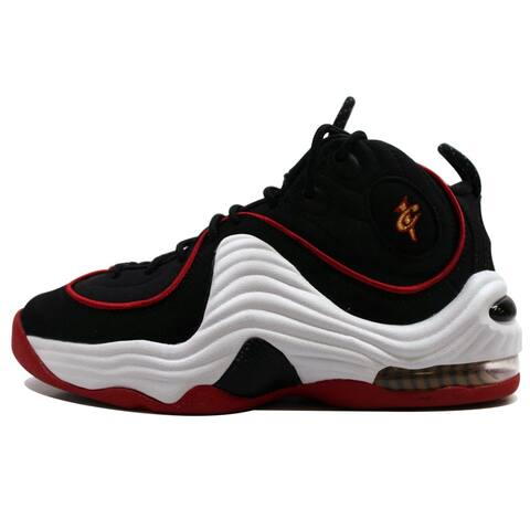 1301d7358 Nike Grade-School Air Penny II GS Black/White-University Red Miami Heat