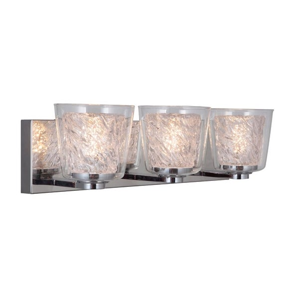 led bathroom vanity lights rectangular craftmade 193203led bevi 3light 1934 shop