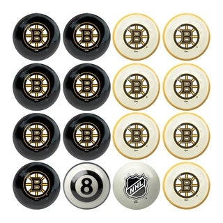 NHL Boston Bruins Billiard Balls Complete Set of 16 - Multi-color