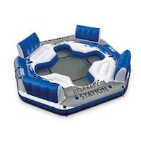 Intex Pacific Paradise 56282Ep Relaxation Station Water Lounge River Tube Raft